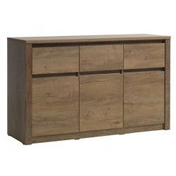 буфет VEDDE 3 door 3 drawer wild oak