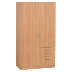 гардероб HAGENDRUP 2doors 3drawers oak