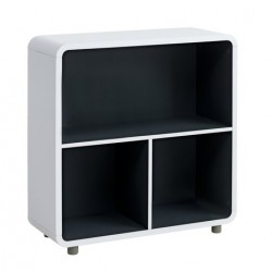 книжный шкаф TERNDRUP 3 Shelves white/grey